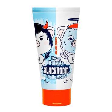 Маска Elizavecca Hell-Pore Bubble Blackboom Pore Pack Кислородная