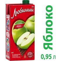Нектар Любимый яблоко