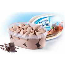 Мороженое шоколадное Лекарство для Карлсона 500 гр., Пластиковый контейнер