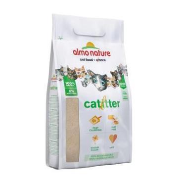 Наполнитель натуральный биоразлагаемый комкующийся, Almo Nature Cat Litter, 5 л., пластиковый пакет