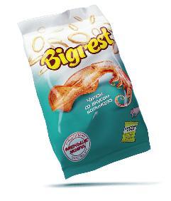 Чипсы Bigrest кальмар