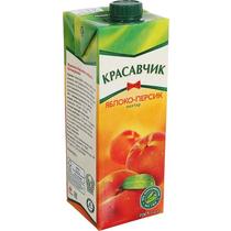 Нектар Красавчик яблоко-персик  0,93 л.