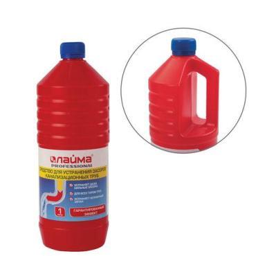 Средство Лайма Professional для прочистки канализационных труб