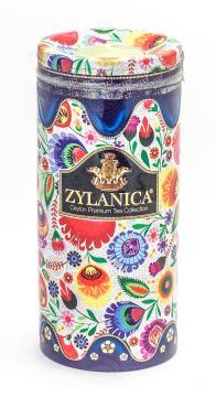 Чай черный Zylanica Folk Desing Collection Blue Cо свечой