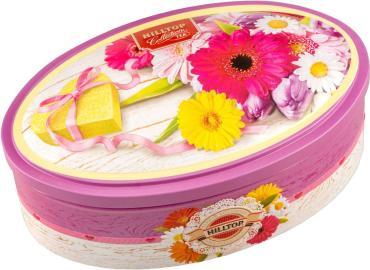 Чай листовой черный Hilltop Летние цветы, 100 гр., шкатулка