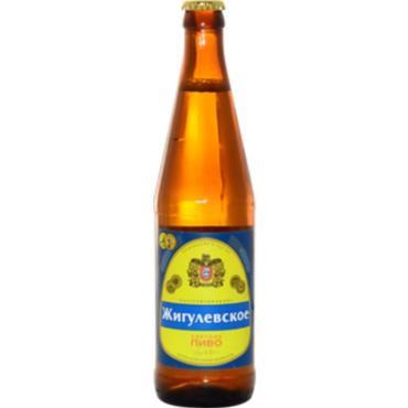 Пиво Очаково Жигулевское светлое 4%