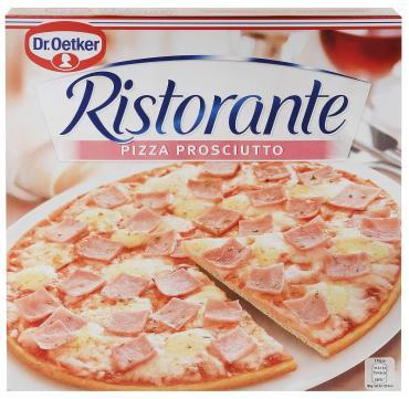 Пицца RISTORANTE с ветчиной, DR.OETKER