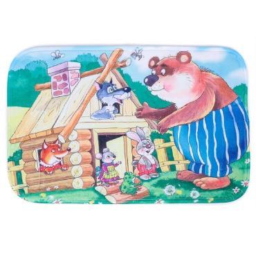 Коврик Доляна для ванны 40х60 см., Теремок