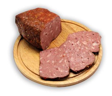 Хлеб Ихляс мясокомбинат Деревенский халяль, 1 кг.