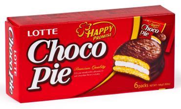 Печенье Choco Pie Lotte 6 шт.