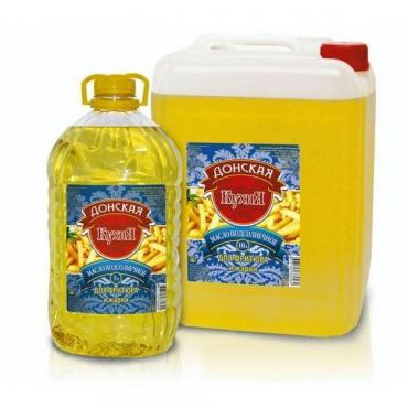 Масло подсолнечное для фритюра и жарки Донская Кухня, 5 л., канистра