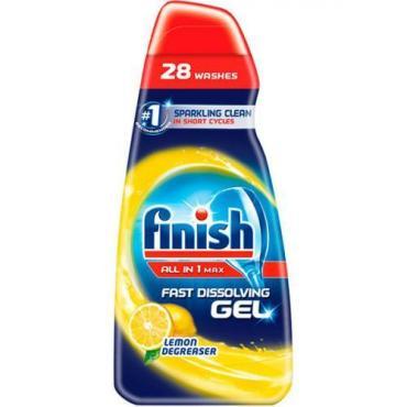 Гель Finish All in 1 антижир лимон для посудомоечной машины