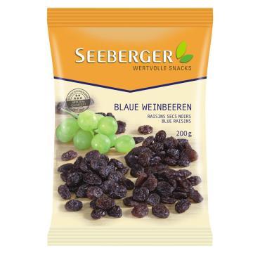 Изюм Seeberger из темного винограда