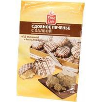 Печенье Fine Life сдобное с халвой 290 гр