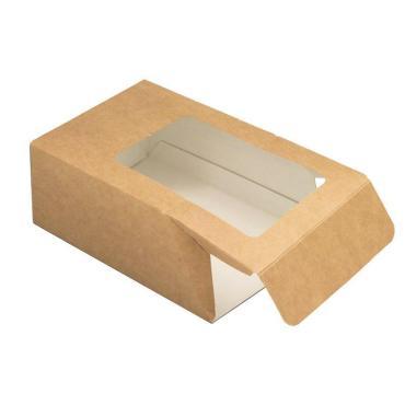 Упаковка для роллов, 130*90*50 мм, крафт