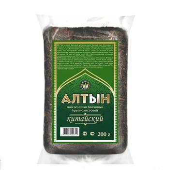 Чай Алтын Зеленый листовой