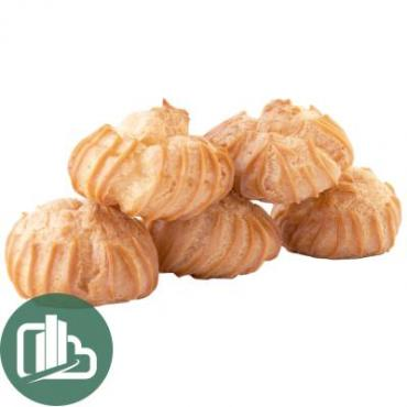 Пирожные Авилон Заварные пышечки с йогуртом 2.5кг