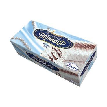 Мороженое рулет ваниль-шоколад Талосто Венеция, 450 гр., Картонная коробка