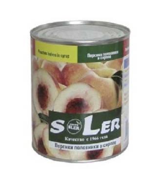 Абрикосы Sler консервированные половинки в сиропе