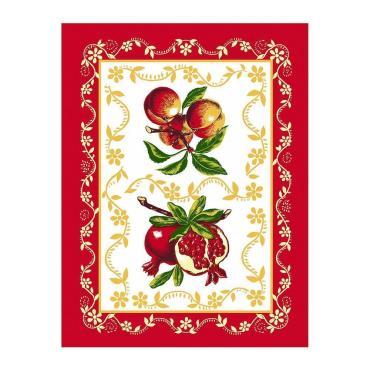 Полотенце Мультидом Любимые фрукты 48х62см