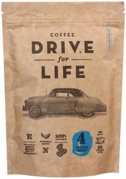 Кофе Drive for Life Strong с молотым сублимированный 150 гр