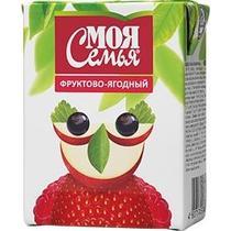 Нектар Моя семья фруктово-ягодный смесь 0,2 л.