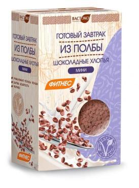 Хлопья Вастэко Завтрак из Полбы Мини шоколадные без сахара