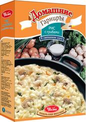 Гарнир Увелка рис с грибами в сметанном соусе