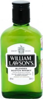 Виски шотландский купажированный William Lawson's 40 %, 200 мл., стекло