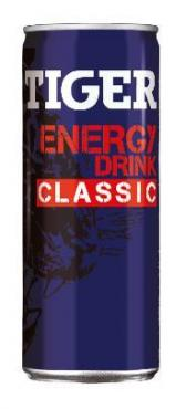 Напиток энергетический Tiger Energy Drink Classic, 250 мл., ж/б