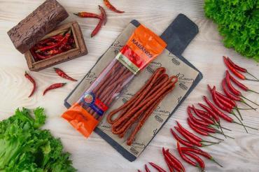 Колбаски KABANOS Chili, Ремит, 70 гр., натуральная оболочка