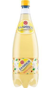 Лимонад Крем-сода, Калинов, 1,5 л., ПЭТ