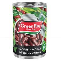 Фасоль Green Ray Красная натуральная