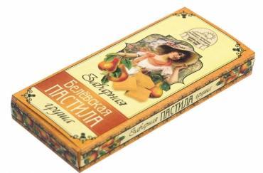 Пастила заварная Груша, Белевская, 250 гр., картонная коробка