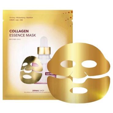 Маска для лица с аденозимом и пептидами золотая Dermal Shop, сашет