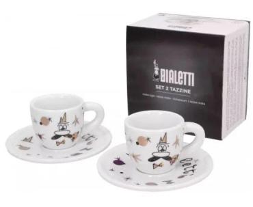 Набор 2 чашки, Bialetti Rose Gold, картонная коробка