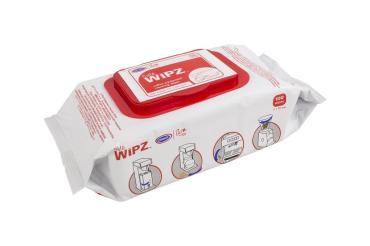 Салфетки для ухода за кофейным оборудованием 100 шт., Urnex Wipz, флоу-пак