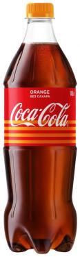 Напиток газированный, апельсин, Coca-Cola, 900 мл., ПЭТ