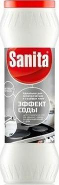 Чистящий порошок, Sanita Эффект соды, 400 гр., пластиковая бутылка