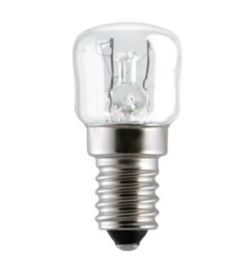 Лампа накаливания для холодильников 15P1/CL/E14 --50, Старт 16 гр., картонная коробка