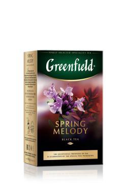 Чай GREENFIELD Spring Melody черный 100г
