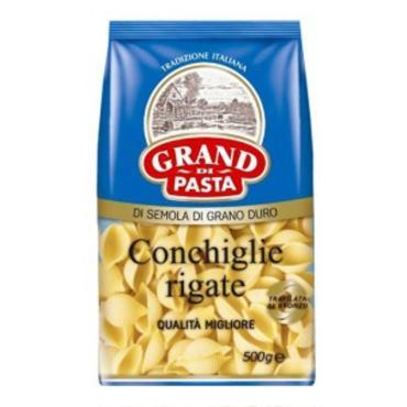 Макароны Grand Di Pasta Conchiglie rigate 500г