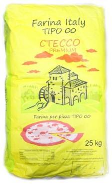 Мука Стессо из мягких сортов для пиццы 25кг