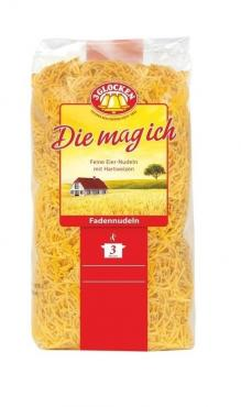 Макароны  DMI Fadennudeln мелкая вермишель, 3 Glocken, 250 гр., флоу-пак