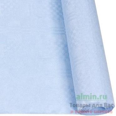 Скатерть бумажная 1200 мм., 8 м., в рулоне голубой Papstar