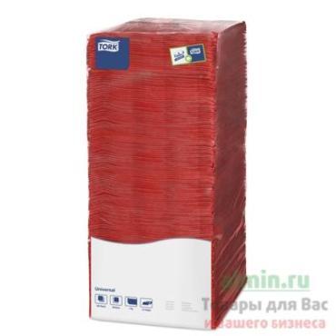 Салфетки Tork Universal бумажные 1 слойн красные