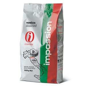 Кофе в зернах Impassion Venezia , 1 кг., фольгированный пакет