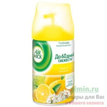 Освежитель воздуха Air Wick Frechmatic Лимон и женьшень