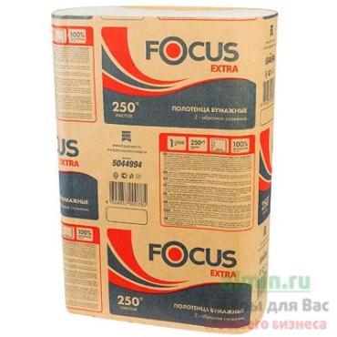 Бумажные полотенца Focus Extra 1 слой 250 листов