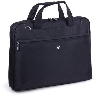Сумка деловая BRAUBERG Chance, 25х35х4 см, отделение для планшета и ноутбука 13,3, ткань,черная, 240455
